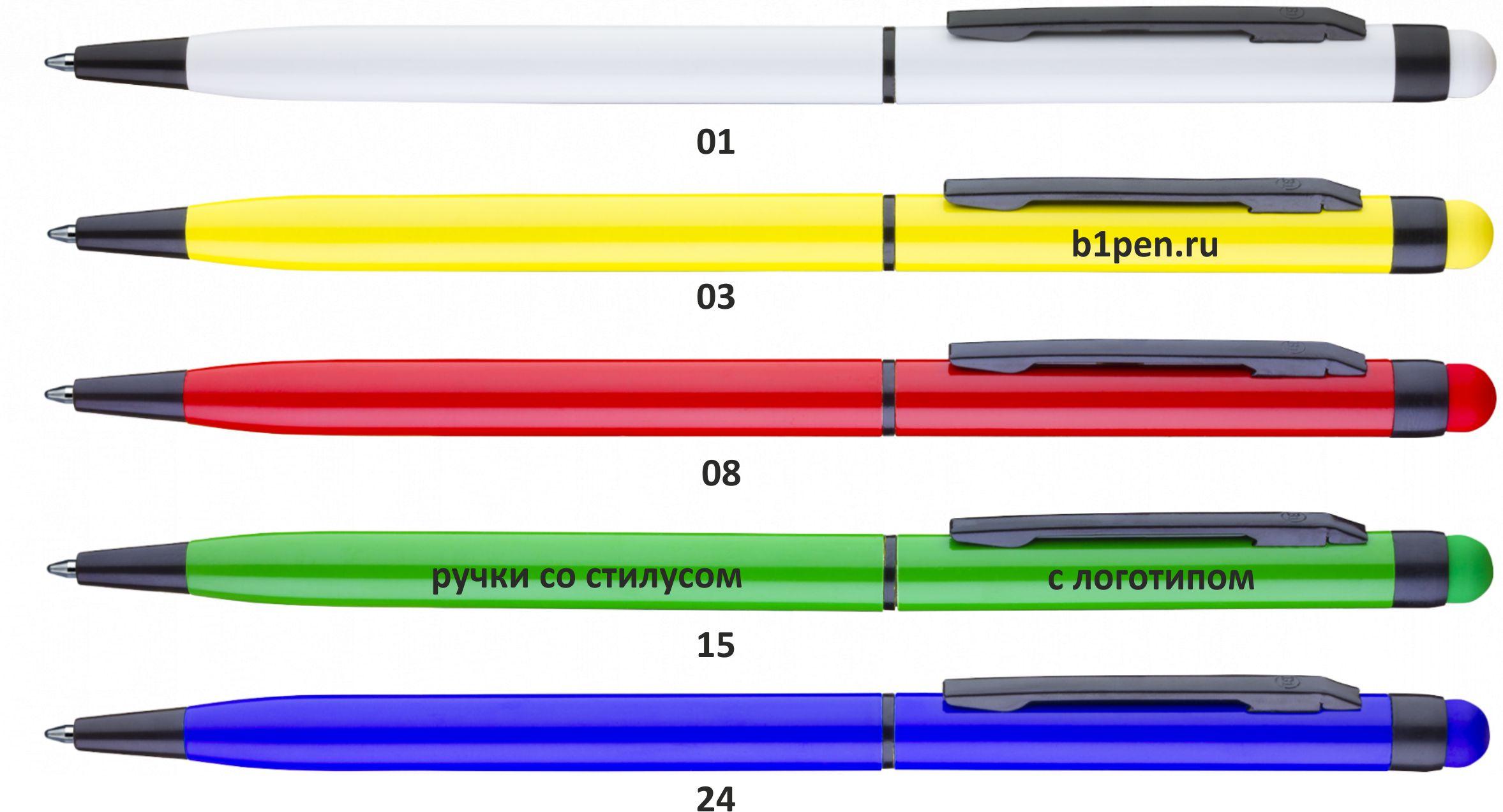 ручки со стилусом тач врайтер
