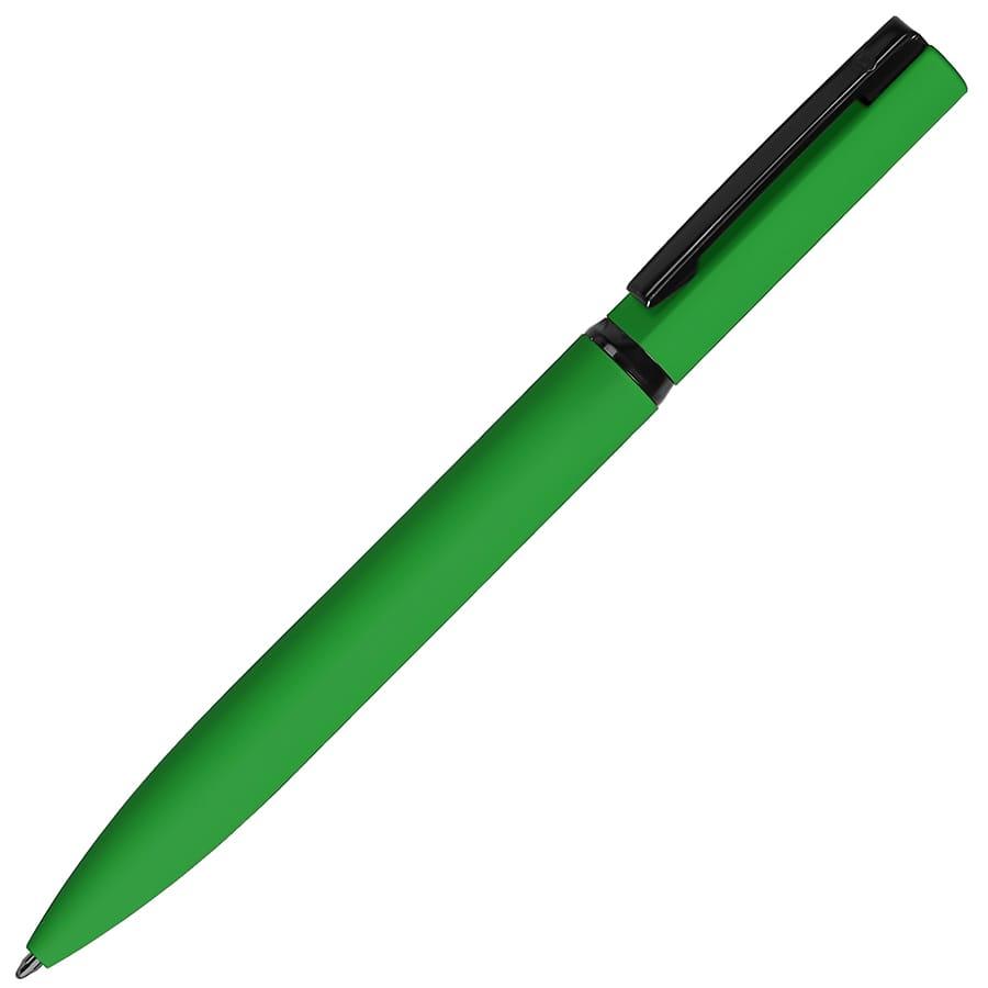 MIRROR BLACK, ручка шариковая, красный, металл, софт- покрытие
